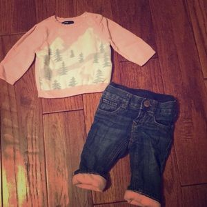 Baby Gap winter outfit
